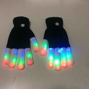 Fun gloves for fun days or night Biking or jogging